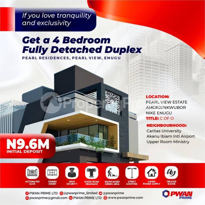 2 bedroom Mixed   Use Land for sale Amorji Nkwubor Nike Enugu Enugu - 1