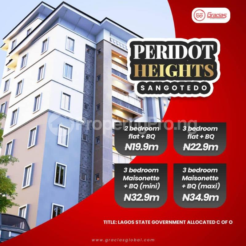 3 bedroom Massionette for sale Novare Mall Eti Osa Sangotedo Lagos - 0