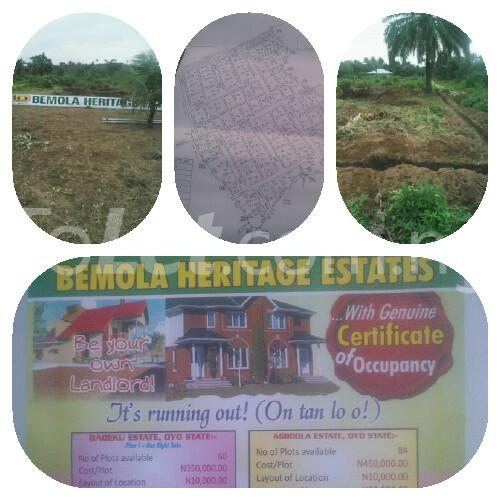 Land for sale Egbeda Oyo - 2