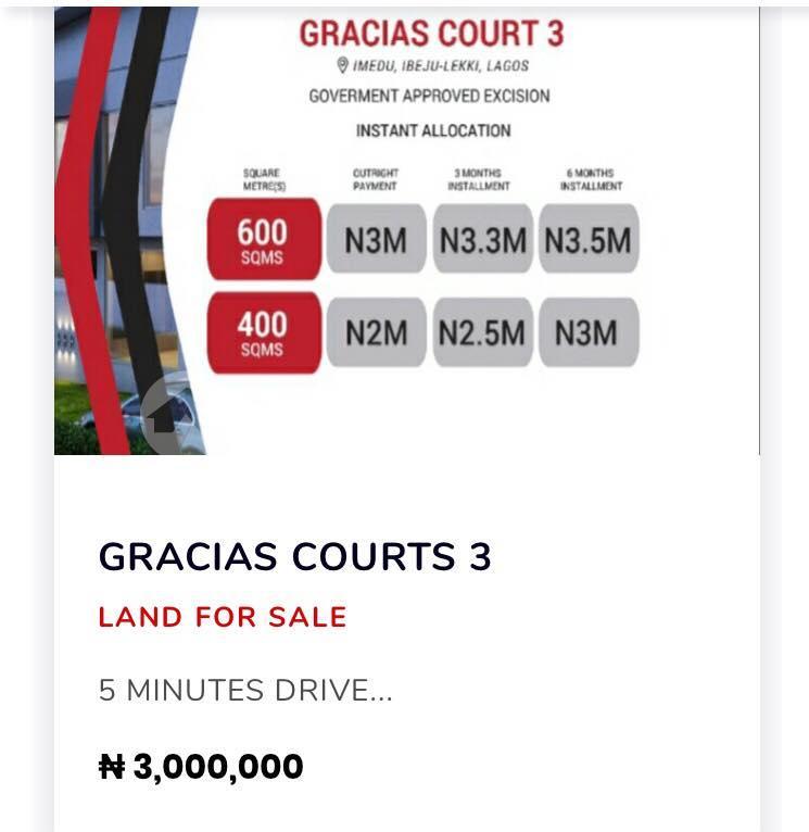 Residential Land Land for sale LaCampaigne Tropicana Ibeju-Lekki Lagos - 0