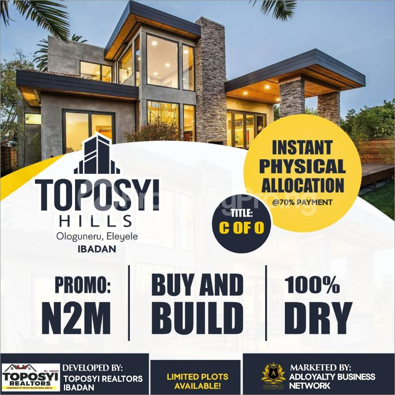 Residential Land Land for sale Eleyele Ibadan Oyo - 0