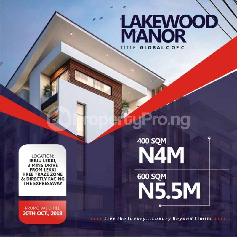 Residential Land for sale Lekki Free Trade Zone Free Trade Zone Ibeju-Lekki Lagos - 2