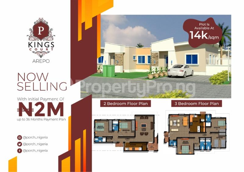Serviced Residential Land Land for sale Voera estate Arepo Arepo Ogun - 2