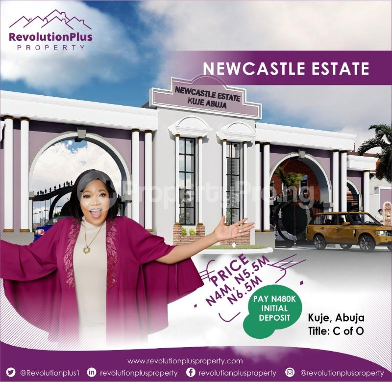 Residential Land Land for sale Newcastle Estate, 5 Minutes From The Airport Kuje Abuja - 0