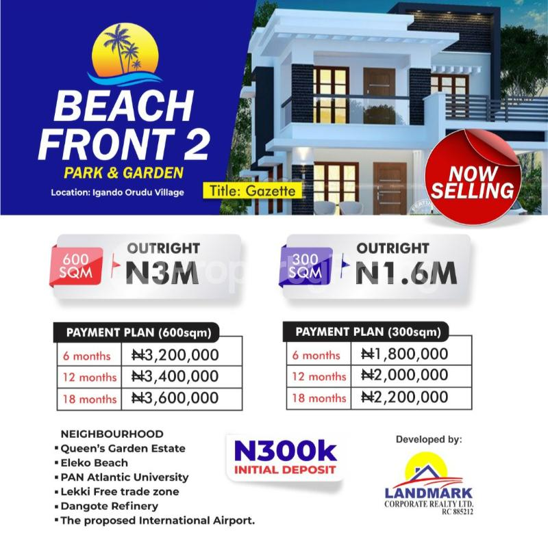 Land for sale Eleko Ibeju-Lekki Lagos - 0