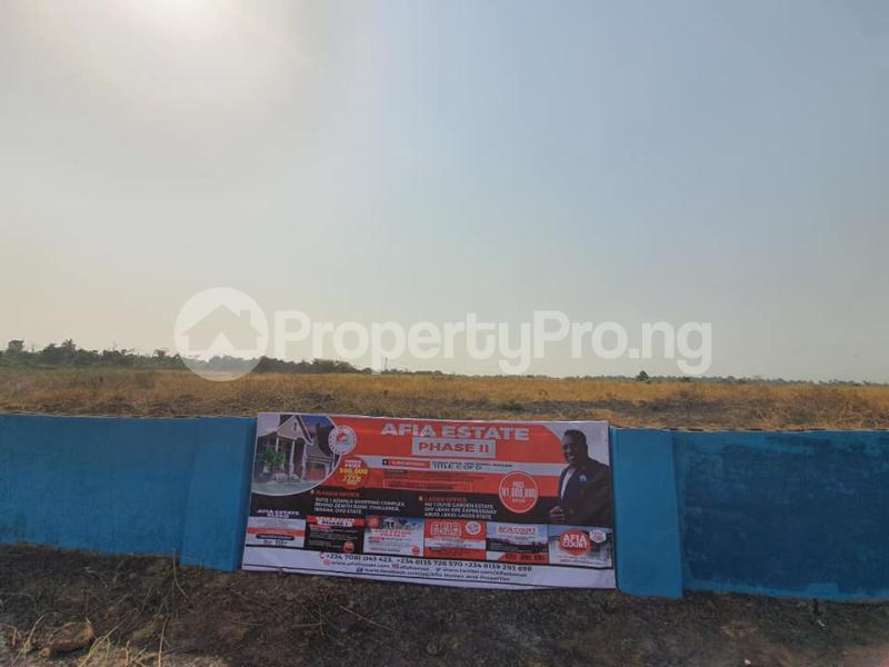 Residential Land Land for sale Iyana Offa Iwo Rd Ibadan Oyo - 1