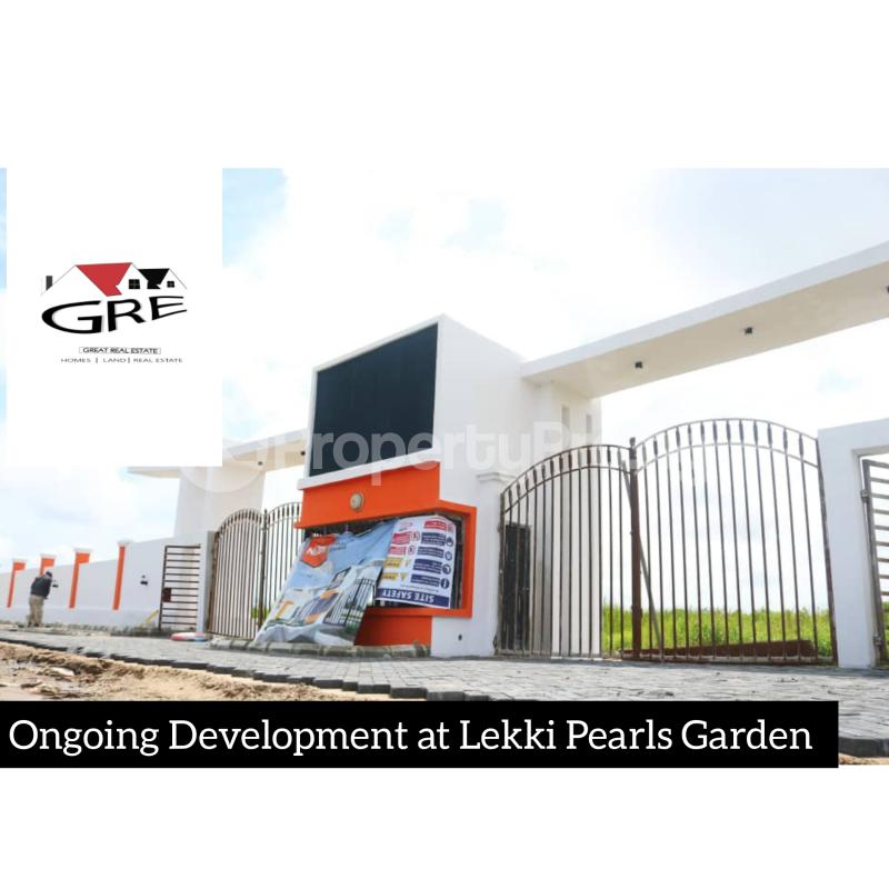 Serviced Residential Land Land for sale 1 minute drive from Lekki Epe Expressway Abijo Ajah Lagos - 1