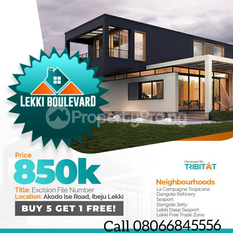 Mixed   Use Land for sale 5 Minutes Drive From La Campagne Tropicana Beach Resort Akodo Ise Ibeju-Lekki Lagos - 3