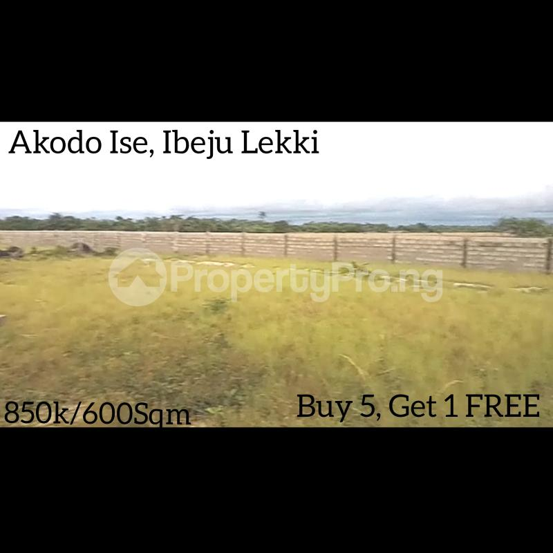 Mixed   Use Land for sale 5 Minutes Drive From La Campagne Tropicana Beach Resort Akodo Ise Ibeju-Lekki Lagos - 1