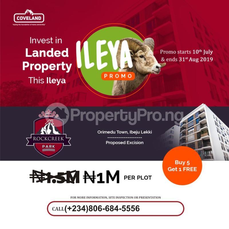 Serviced Residential Land Land for sale Orimedu Town Ibeju-Lekki Lagos - 0