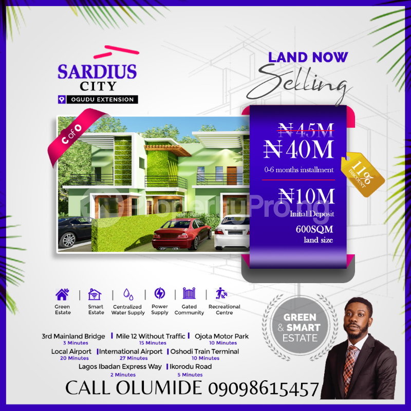 Residential Land Land for sale ... Ogudu Ogudu Lagos - 2