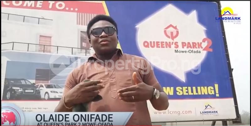 Residential Land Land for sale Queen's Park Estate 2, Mowe Ofada Mowe Obafemi Owode Ogun - 6