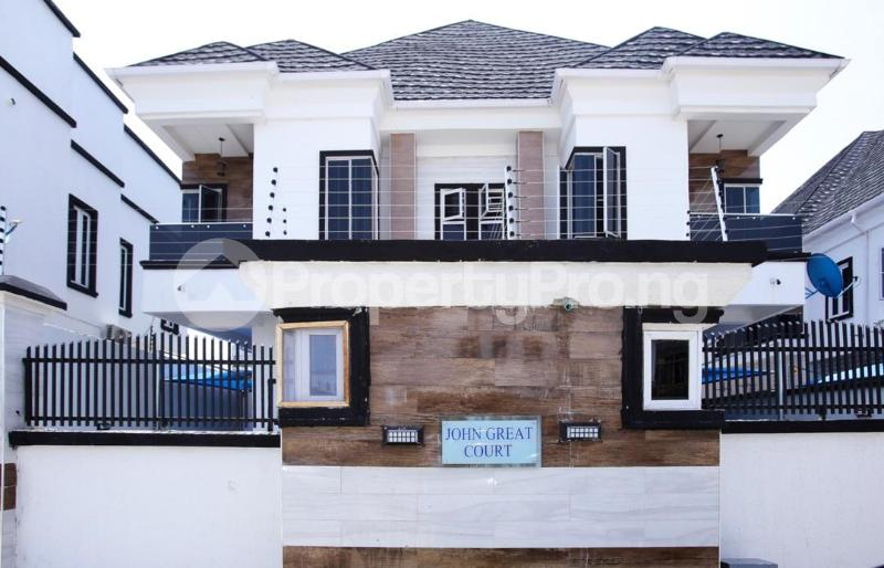 5 bedroom Detached Duplex House for sale Chevy View Estate chevron Lekki Lagos - 0