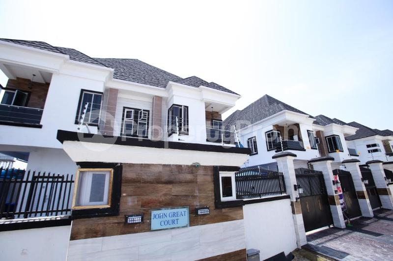 5 bedroom Detached Duplex House for sale Chevy View Estate chevron Lekki Lagos - 2