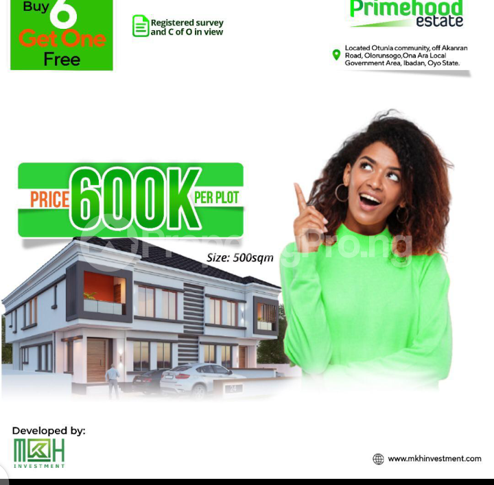 Residential Land Land for sale Otunla Community Oyo Oyo - 0