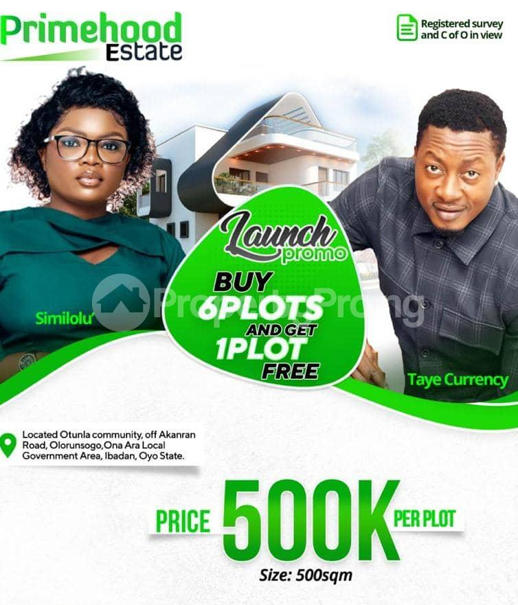Residential Land for sale   Ibadan Oyo - 0