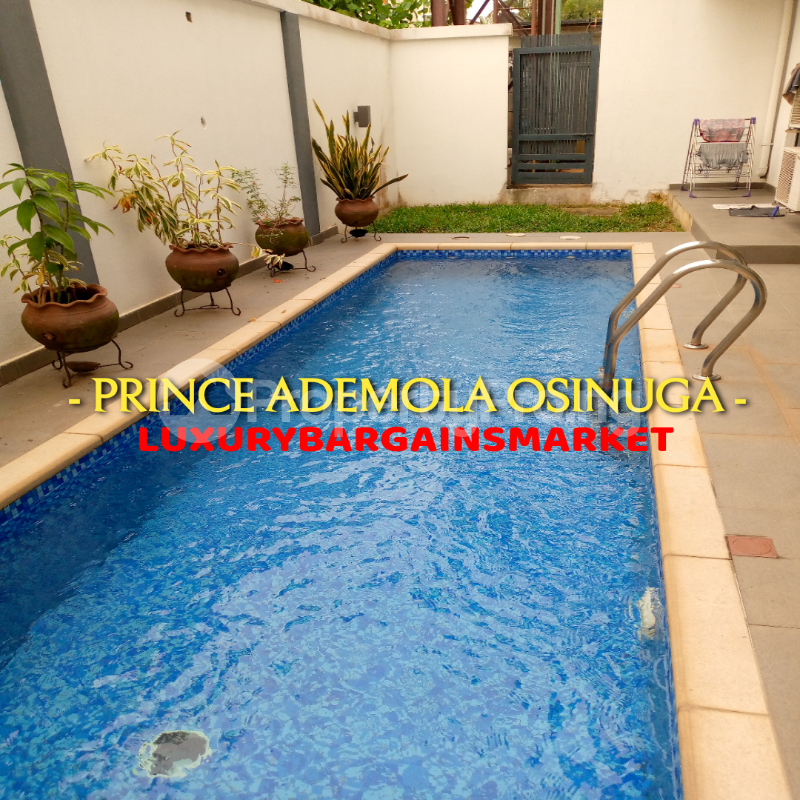 3 bedroom Semi Detached Duplex House for rent BANANA ISLAND ESTATE Banana Island Ikoyi Lagos - 1