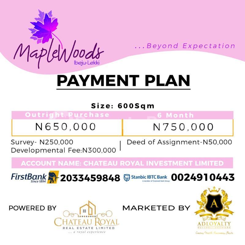 Serviced Residential Land Land for sale Igbogun Town LaCampaigne Tropicana Ibeju-Lekki Lagos - 0