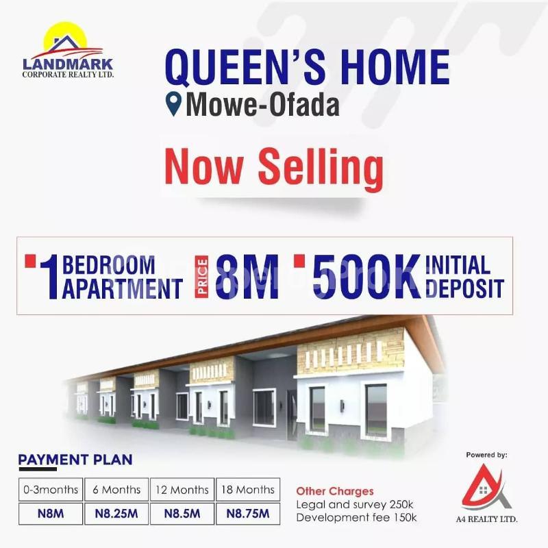 3 bedroom Semi Detached Bungalow for sale Mowe Obafemi Owode Ogun - 1
