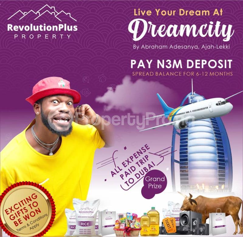 Residential Land Land for sale Abraham Adesanya Road Abraham adesanya estate Ajah Lagos - 5
