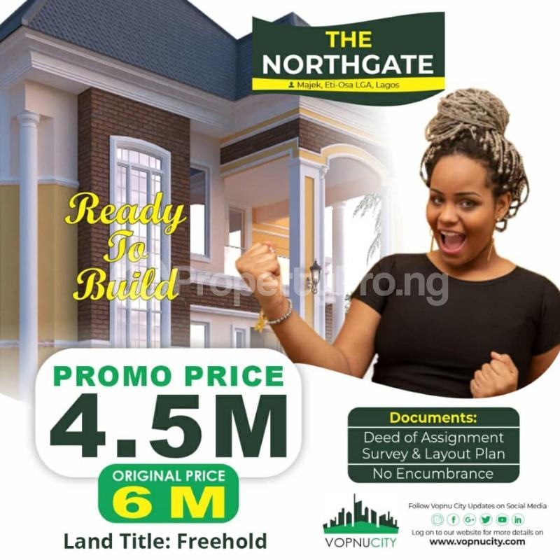 Residential Land Land for sale Opposite Fara Park Estate by Majek Bus Stop Off lekki Epe Expressway Road Lagos  Majek Sangotedo Lagos - 0