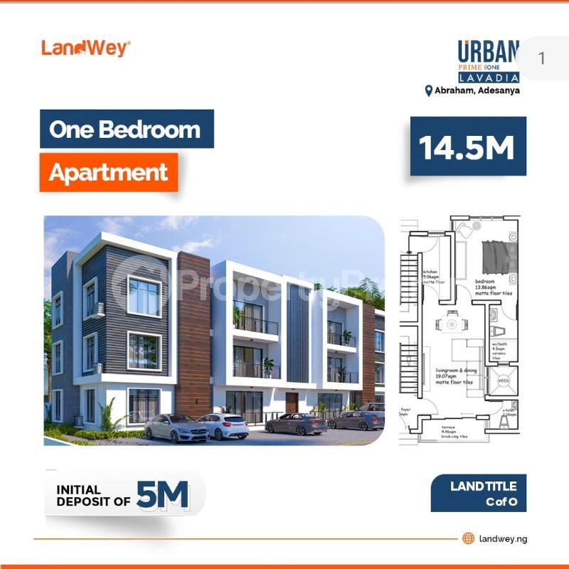 1 bedroom mini flat  House for sale Along Abraham Adesanya Abraham adesanya estate Ajah Lagos - 0