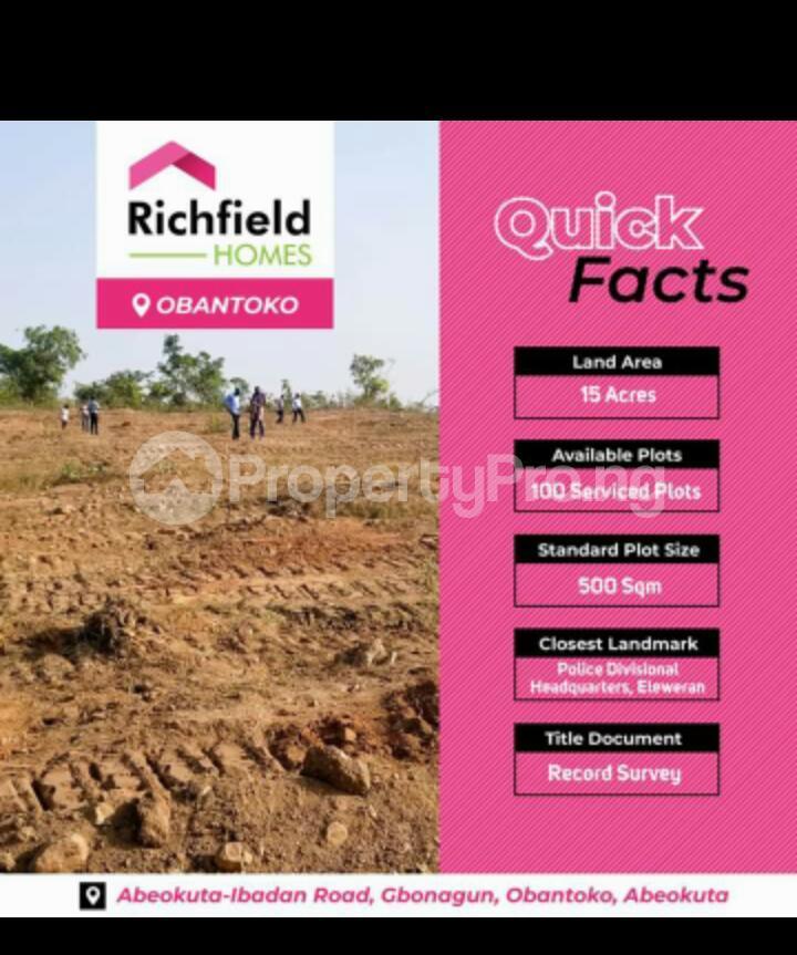 Mixed   Use Land Land for sale Abeokuta-Ibadan Road, Gbonagun Obantoko Adatan Abeokuta Ogun - 0