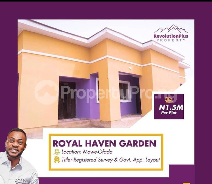 Residential Land for sale Mowe Obafemi Owode Ogun - 0