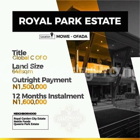 Mixed   Use Land Land for sale Close to Nestlé foods Mowe Obafemi Owode Ogun - 1