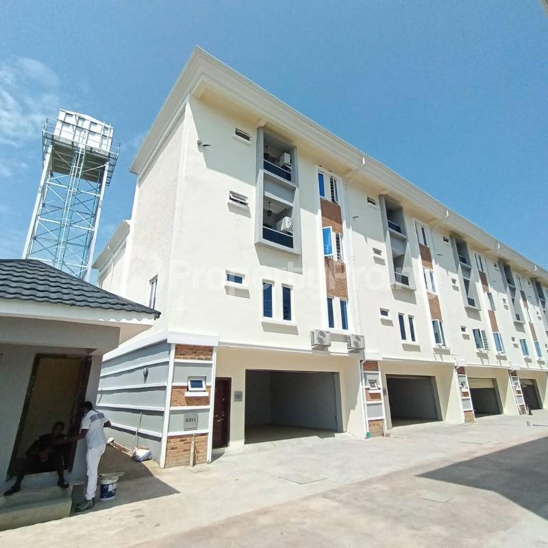 4 bedroom Terraced Duplex for sale Idado Estate, Lekki Lagos Idado Lekki Lagos - 0