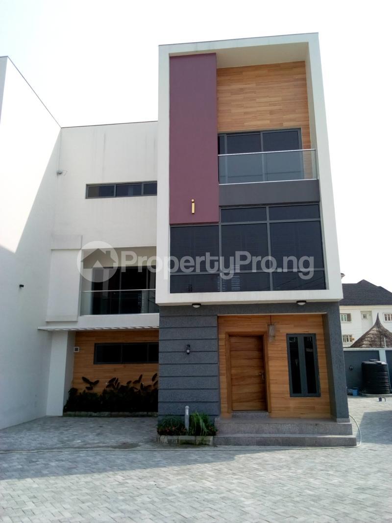 4 bedroom Terraced Duplex House for sale Before Canal Agungi Lekki Lagos - 0