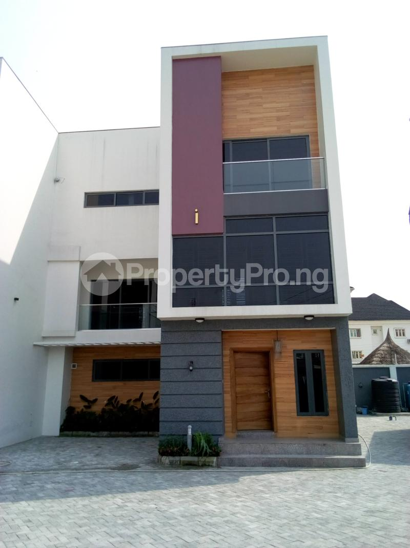 4 bedroom Terraced Duplex House for sale Before Canal Agungi Lekki Lagos - 1