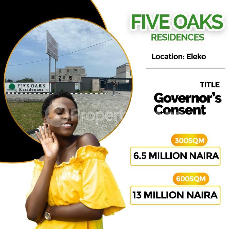 Serviced Residential Land Land for sale Directly Facing Eleko Road before Amen Estate Off Lekki-Epe Expressway Ajah Lagos - 2