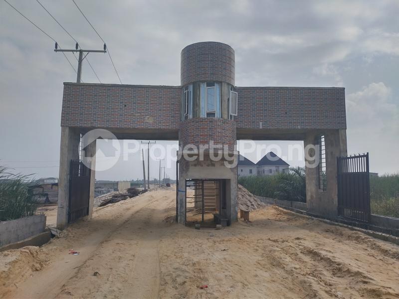 Serviced Residential Land for sale Oko Eledu Estate, Through Value County Estate, Sangotedo Sangotedo Ajah Lagos - 0
