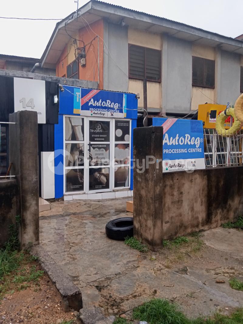Shop Commercial Property for rent Fola agoro road Fola Agoro Yaba Lagos - 3