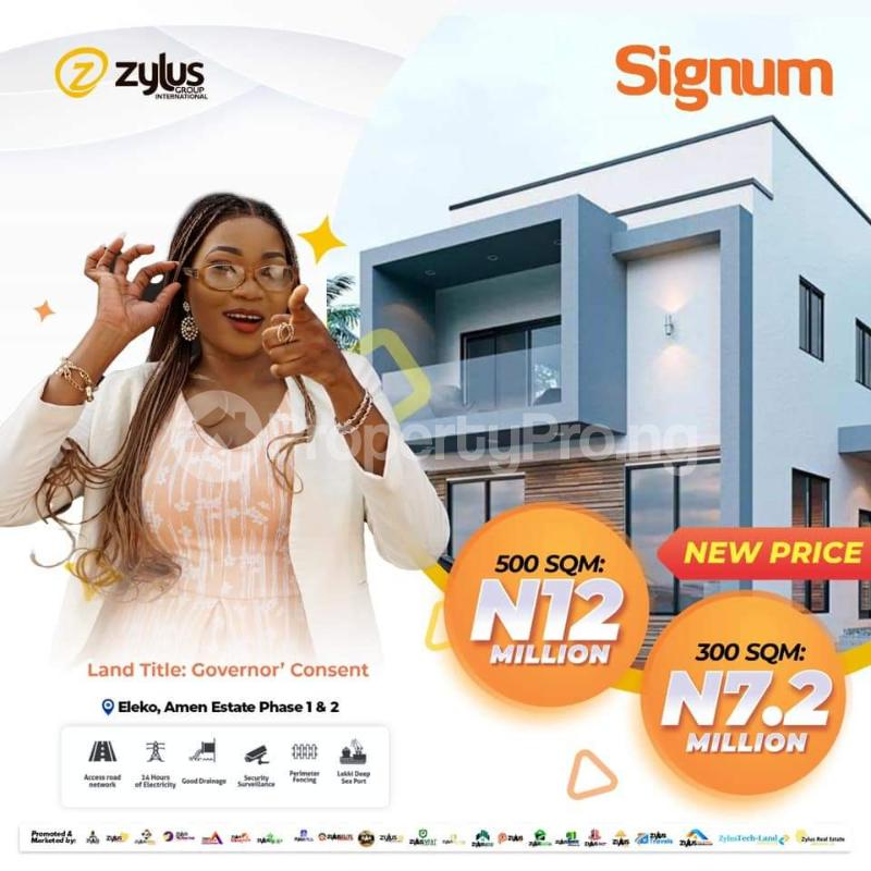 Residential Land for sale Amen Estate 1&2 Oreki Community Ibeju-Lekki Lagos - 0