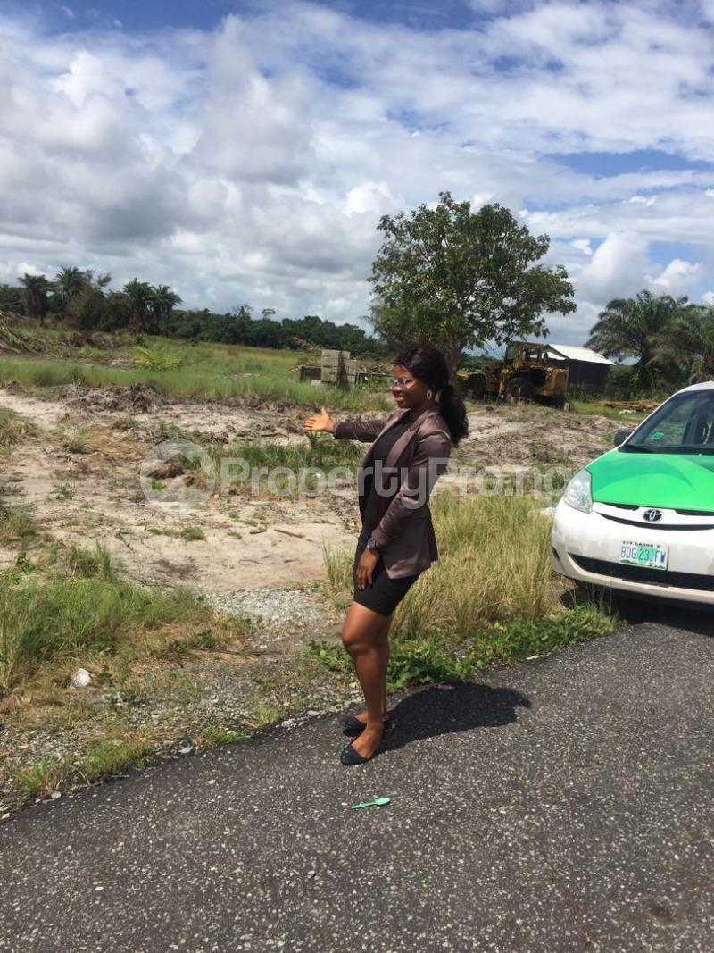Residential Land Land for sale Igbogun, few minutes from La Campine beach. Ibeju-Lekki Lagos - 1