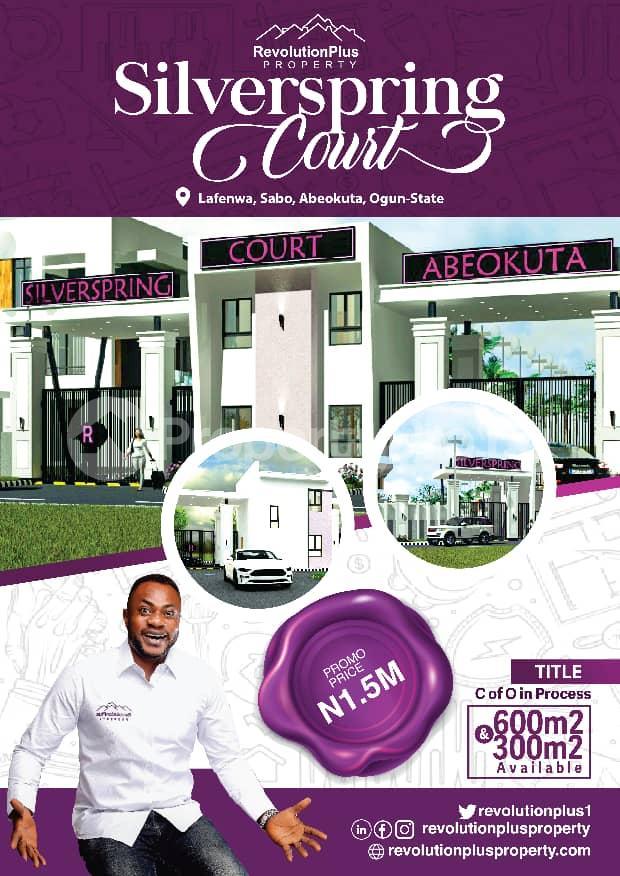 Residential Land Land for sale Lafenwa, Abeokuta, Ogun state. Abeokuta Ogun - 0