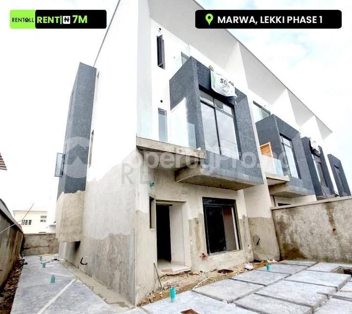 4 bedroom Semi Detached Duplex House for rent Marwa Lekki Phase 1 Lekki Lagos - 0
