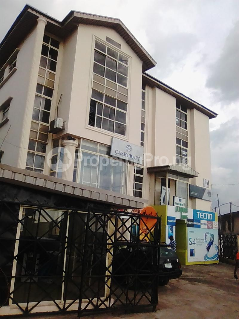 1 bedroom mini flat  Office Space Commercial Property for rent Oke-fia beside first bank  Osogbo Osun - 0