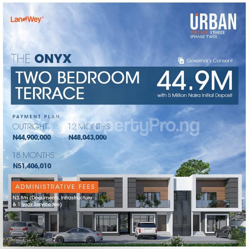 2 bedroom Terraced Duplex for sale The Onyx, Along Abraham Adesanya Road Ogombo Ajah Lagos - 8