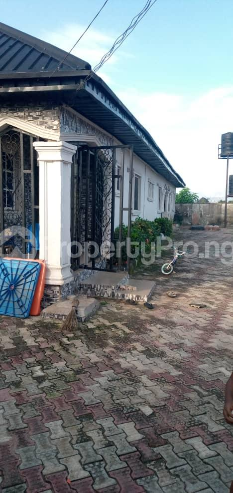 Detached Bungalow House for sale By Sapele road bypass Oredo Edo - 1