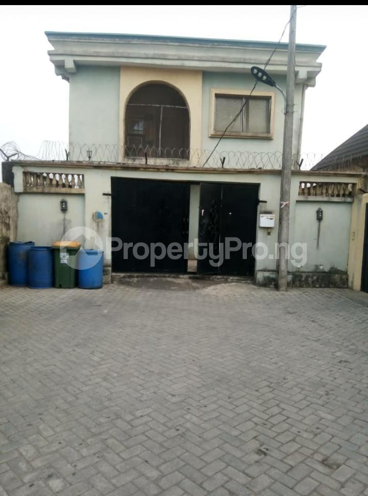 4 bedroom Detached Duplex for sale Harmony Estate Off College Road Ogba Lagos - 0
