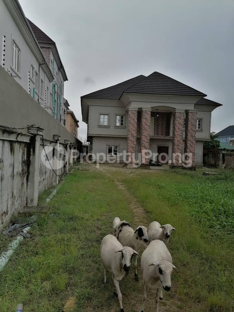 4 bedroom Detached Duplex House for sale Green Field estate Community road Okota Lagos - 1