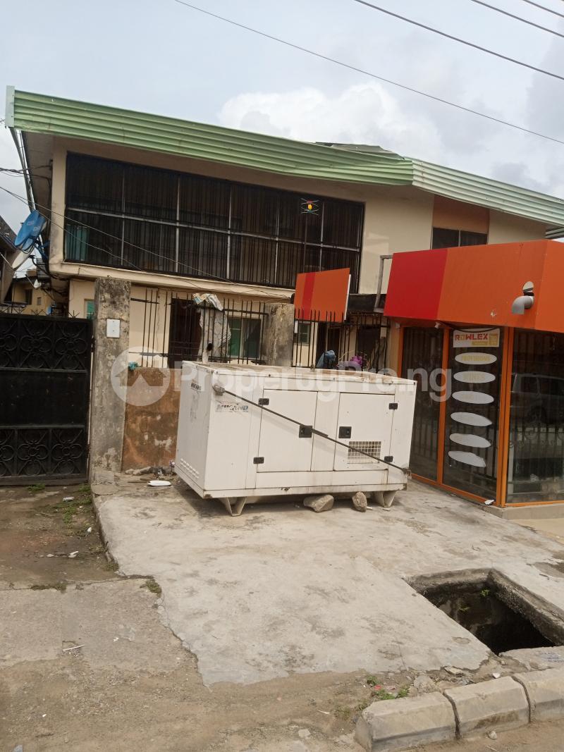 3 bedroom Blocks of Flats House for sale Bayo Ago palace Okota Lagos - 1