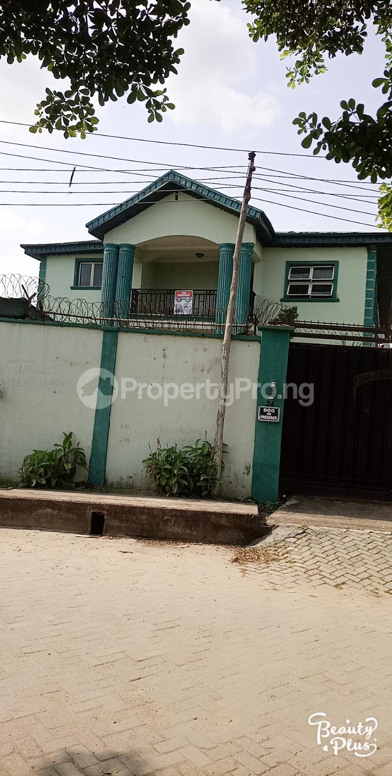 5 bedroom Detached Duplex House for sale Ajao Estate Isolo. Lagos Mainland Ajao Estate Isolo Lagos - 5