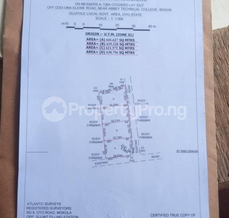 Residential Land for sale Heritage Estate, Oluyole Extension Akala Express Ibadan Oyo - 0