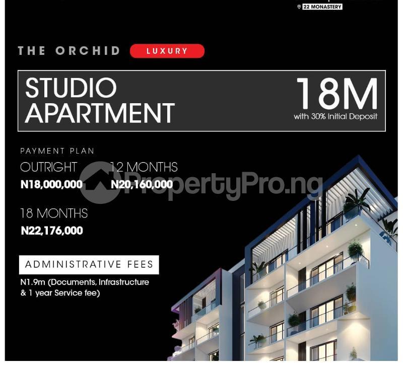 1 bedroom Studio Apartment for sale The Apartment By Monastery Road, Sangotedo. Lekki Lagos - 0