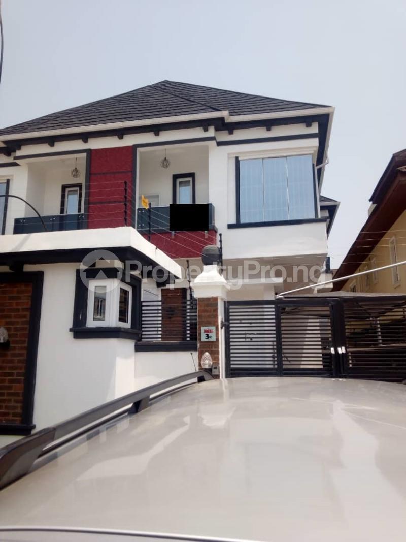 4 bedroom Semi Detached Duplex House for rent --- chevron Lekki Lagos - 0