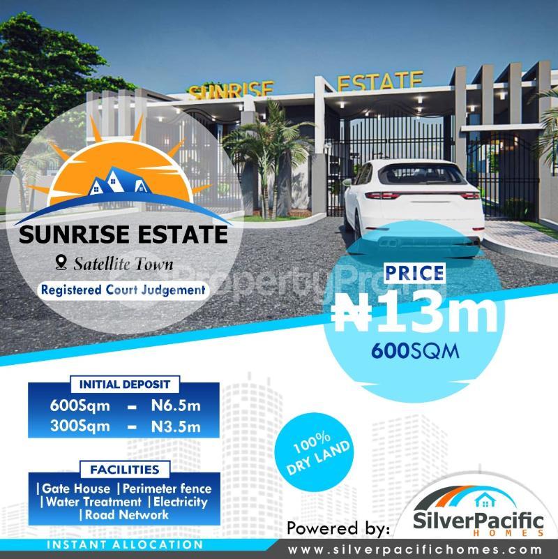 Residential Land for sale Satellite Town, Festac Lagos Satellite Town Amuwo Odofin Lagos - 0